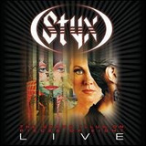 Styx Grand Illusion pieces Of Eight Live [eua] Cd Duplo Novo